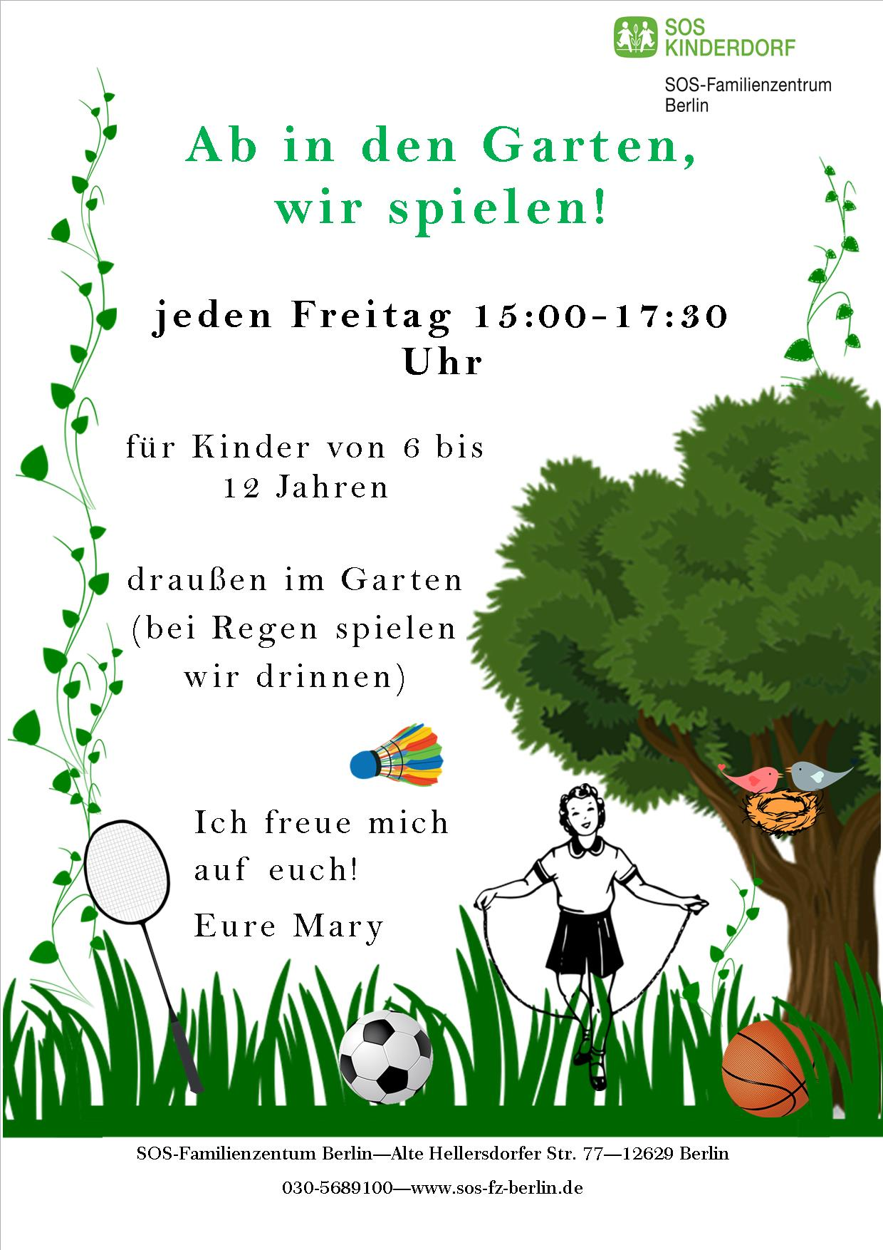 Flyer_Ab in den Garten